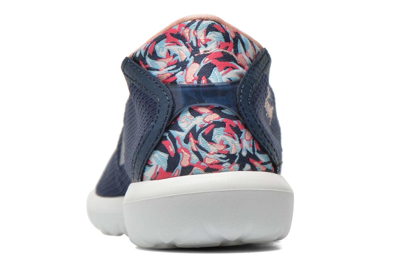 Baskets Le Coq Sportif Wendon Levity W Flower Jacquard Bleu vue droite