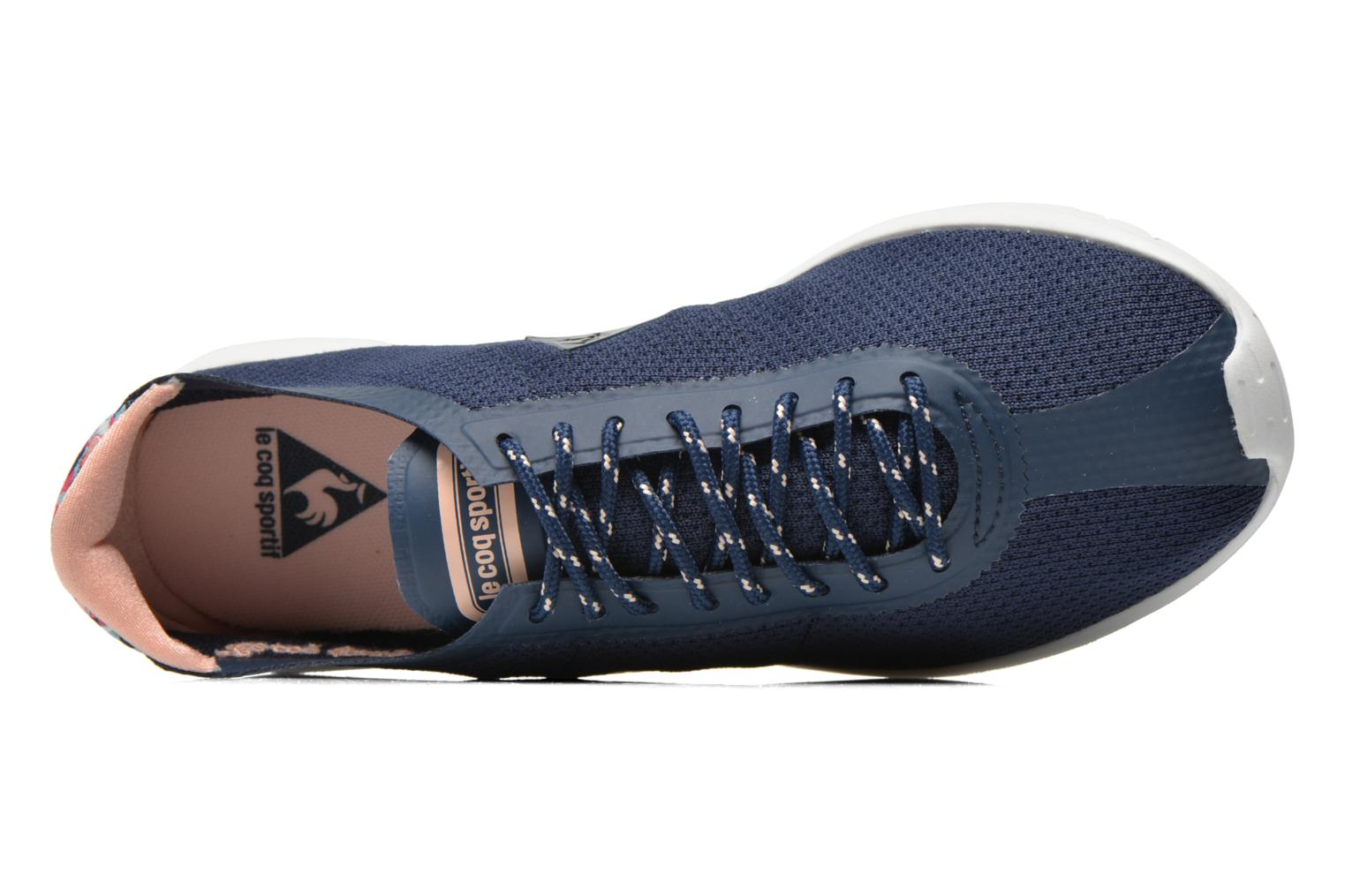 Trainers Le Coq Sportif Wendon Levity W Flower Jacquard Blue view from the left