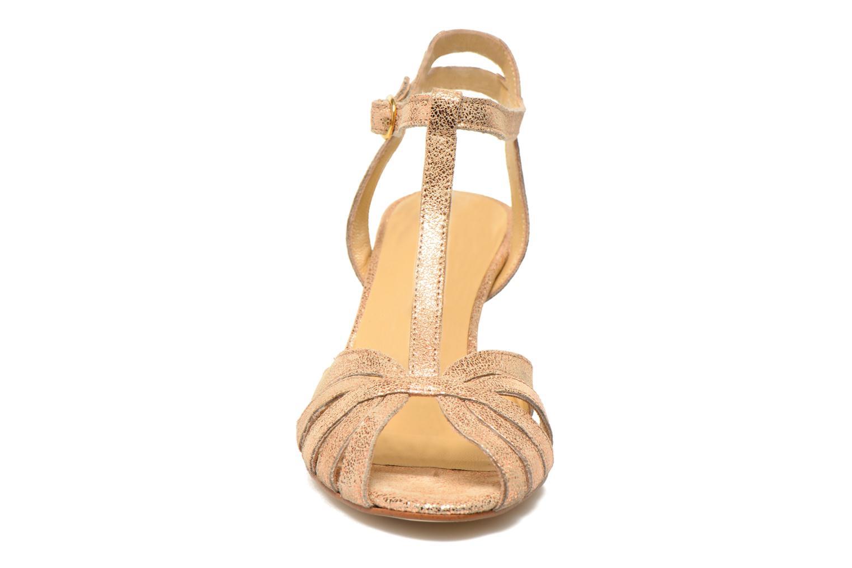 Sandali e scarpe aperte Jonak Doliate Oro e bronzo modello indossato