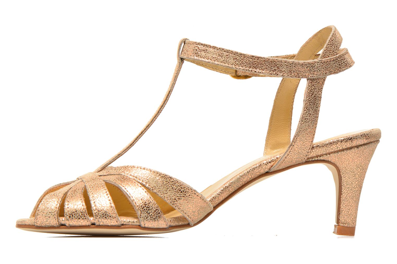 Sandali e scarpe aperte Jonak Doliate Oro e bronzo immagine frontale