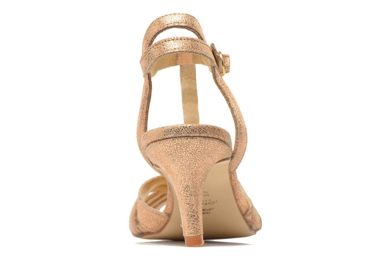 Sandali e scarpe aperte Jonak Doliate Oro e bronzo immagine destra