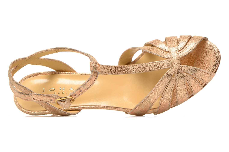 Sandali e scarpe aperte Jonak Doliate Oro e bronzo immagine sinistra