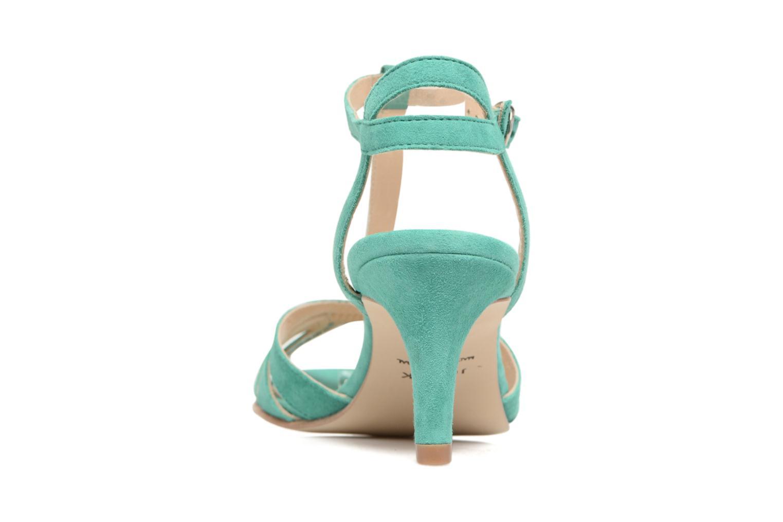 Sandales et nu-pieds Jonak Doliate Bleu vue droite
