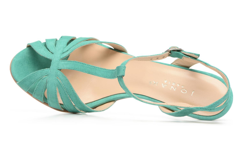 Doliate velours turquoise