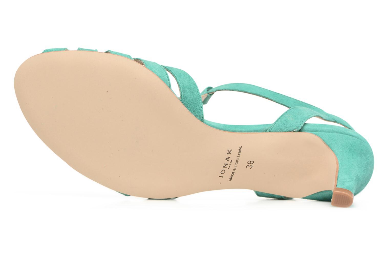 Sandales et nu-pieds Jonak Doliate Bleu vue haut