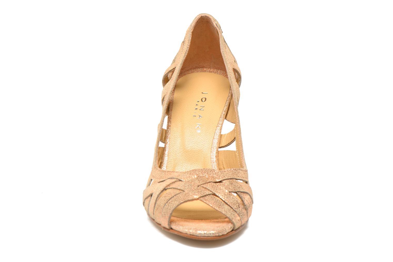 Høje hæle Jonak Djenny Guld og bronze se skoene på