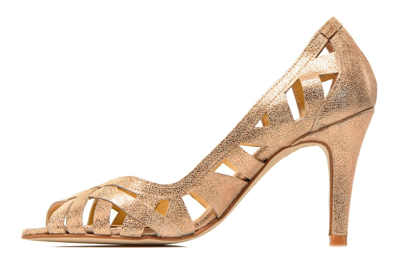 High heels Jonak Djenny Bronze and Gold front view