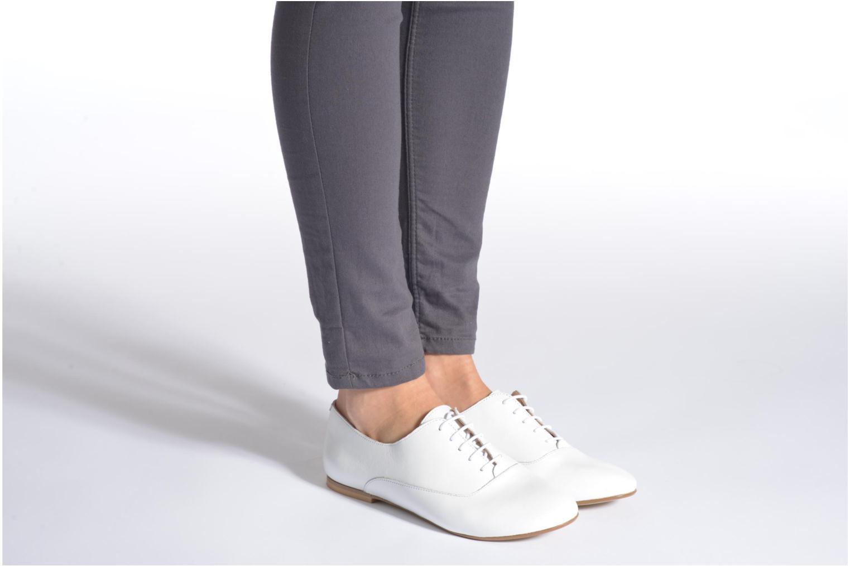 Chaussures à lacets Jonak 2534 Noir vue bas / vue portée sac