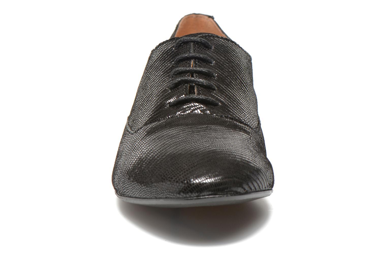 Schnürschuhe Jonak 2534 schwarz schuhe getragen