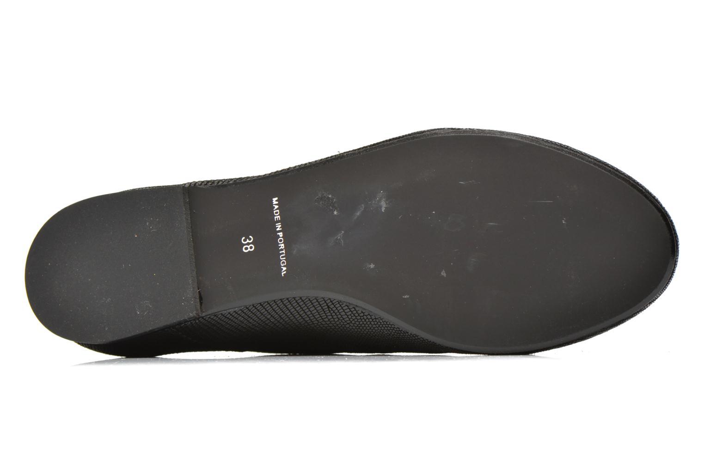 Schnürschuhe Jonak 2534 schwarz ansicht von oben