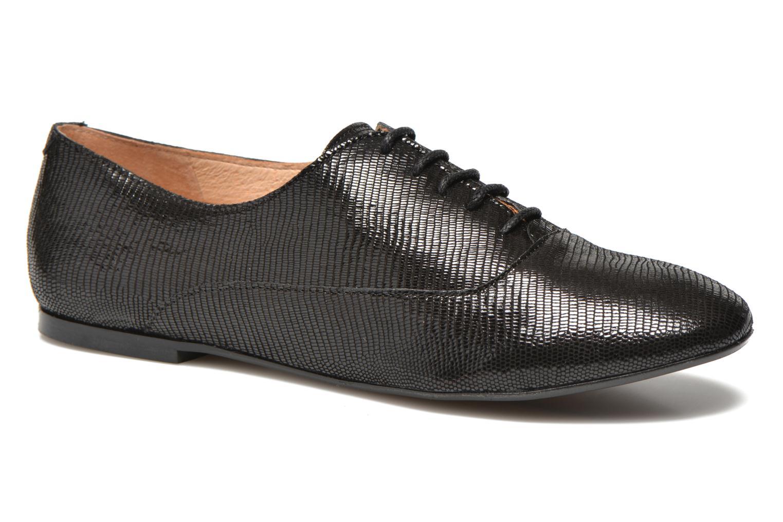 Chaussures à lacets Jonak 2534 Noir vue détail/paire