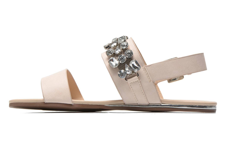 Sandales et nu-pieds Blink Mori Beige vue face