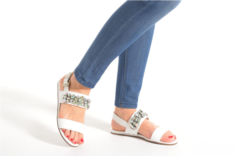 Sandales et nu-pieds Blink Mori Blanc vue bas / vue portée sac