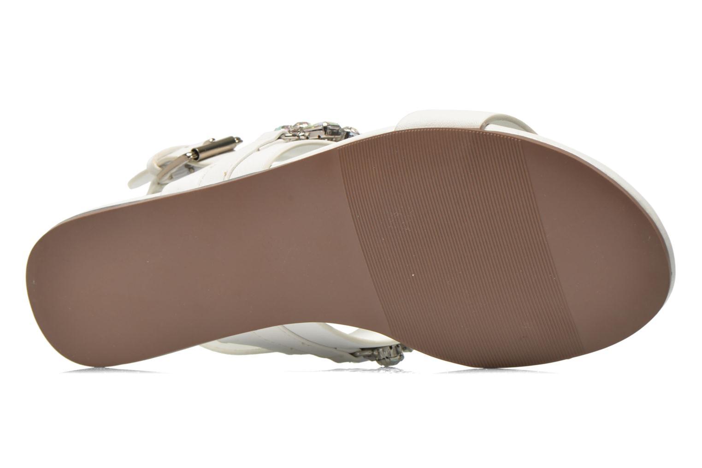 Sandales et nu-pieds Blink Mori Blanc vue haut