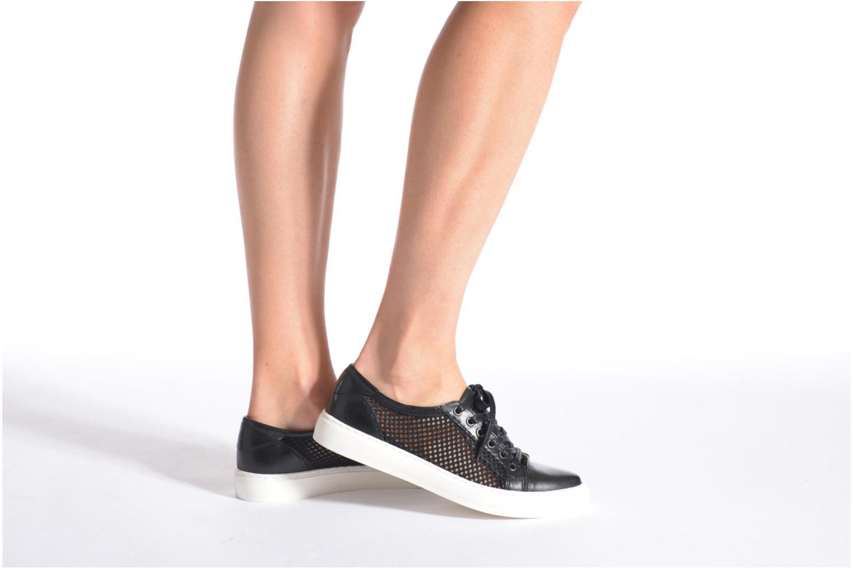 Sneaker Bronx Mec 2 schwarz ansicht von unten / tasche getragen