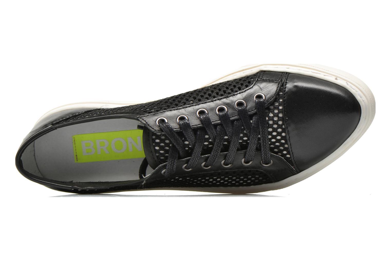 Sneaker Bronx Mec 2 schwarz ansicht von links