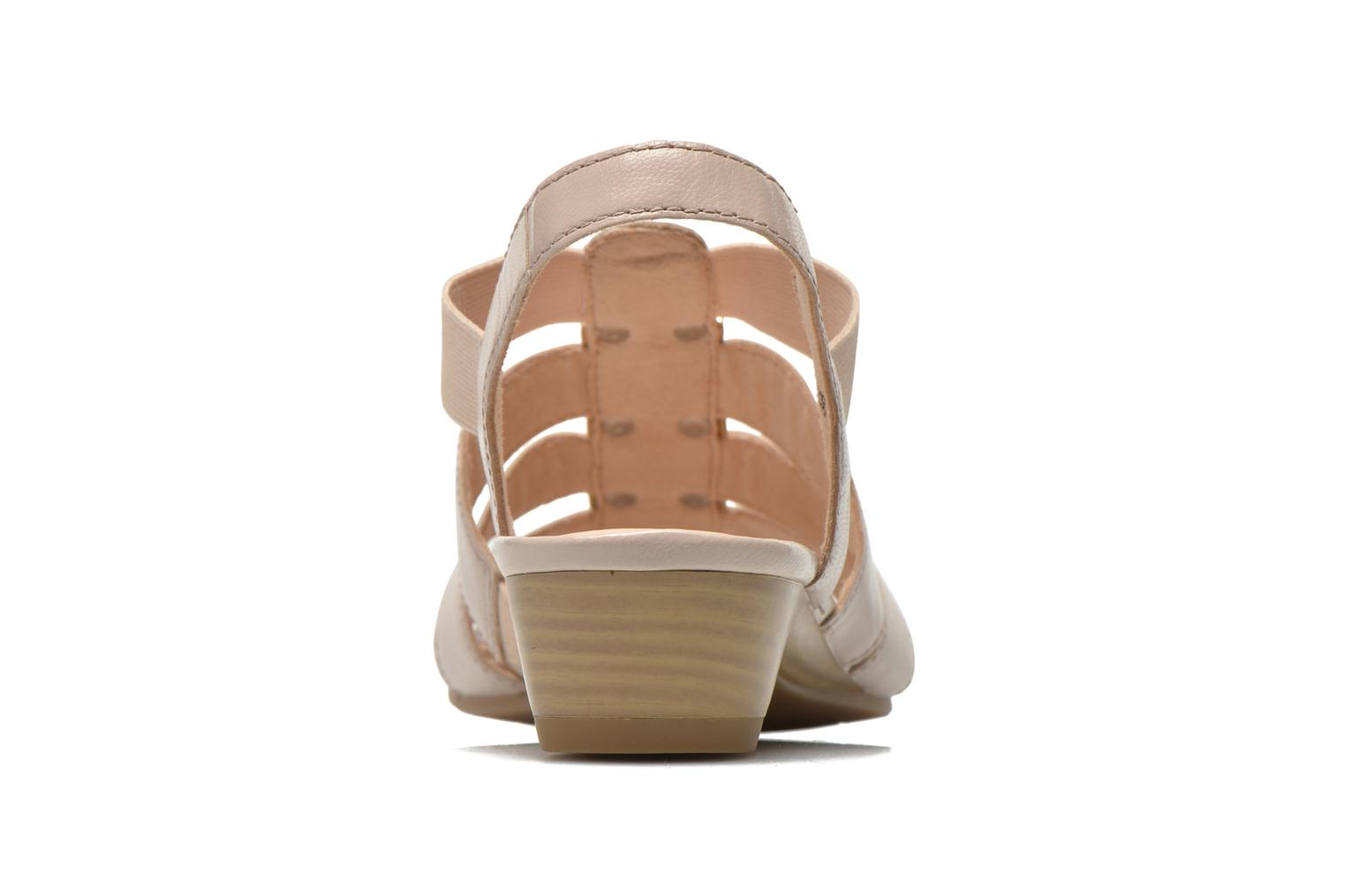 Sandals Caprice Carla Beige view from the right