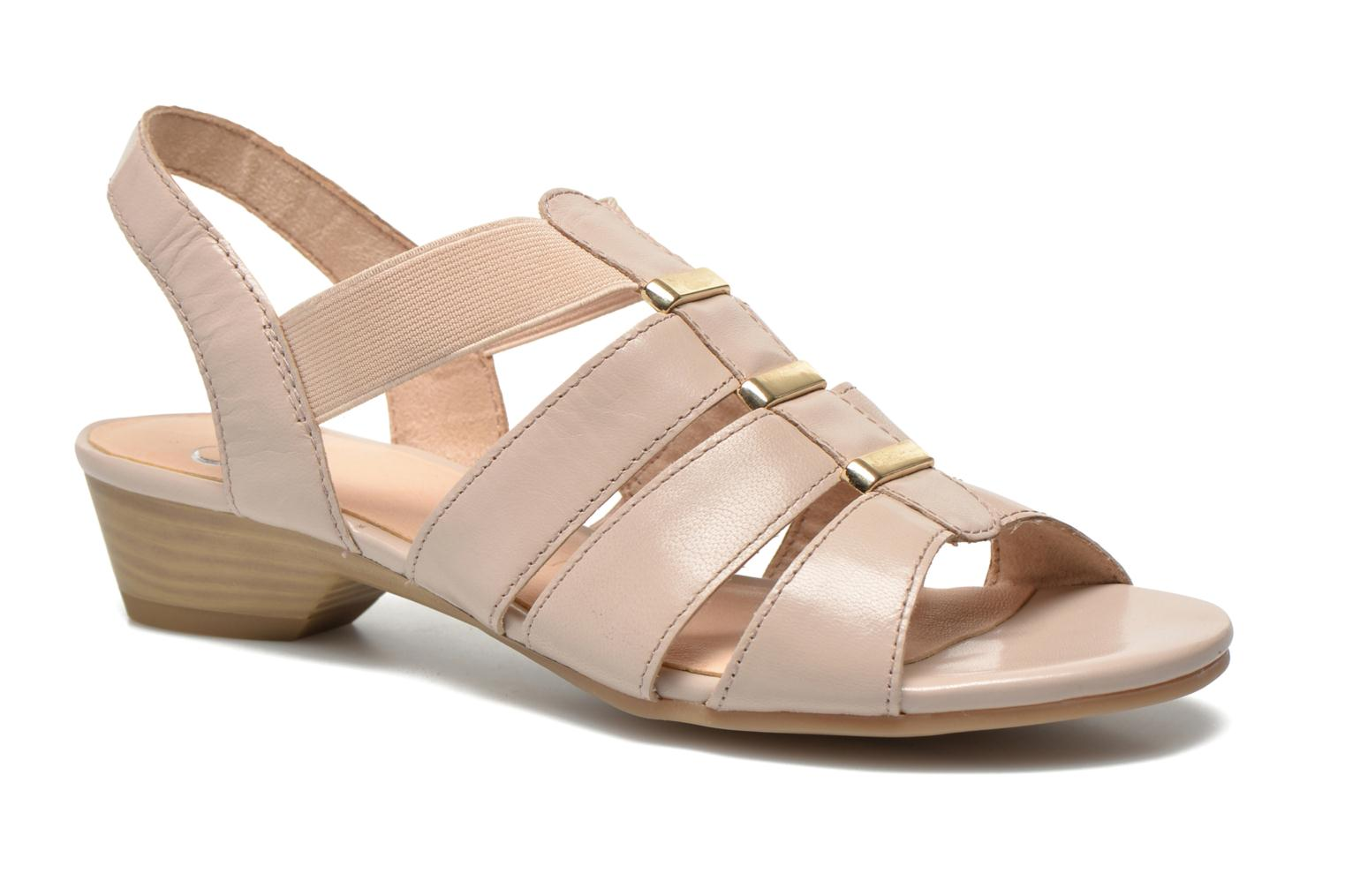 Sandals Caprice Carla Beige detailed view/ Pair view