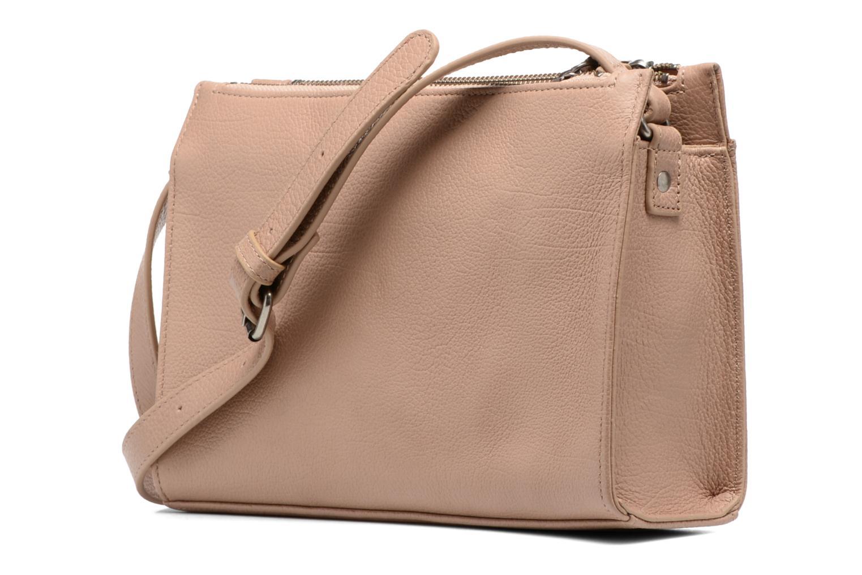 Handtaschen Nat & Nin Bianca beige ansicht von rechts