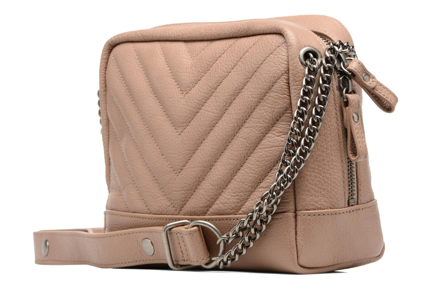 Handbags Nat & Nin Rio Beige view from the right