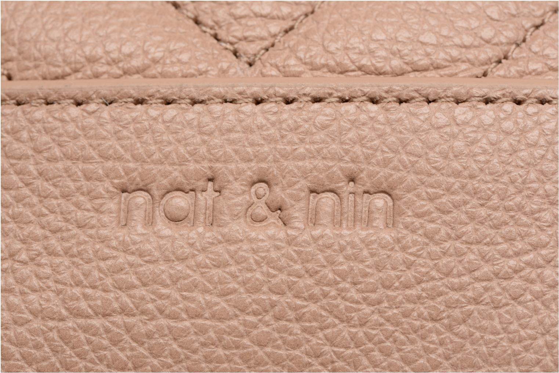 Handtaschen Nat & Nin Rio beige ansicht von links