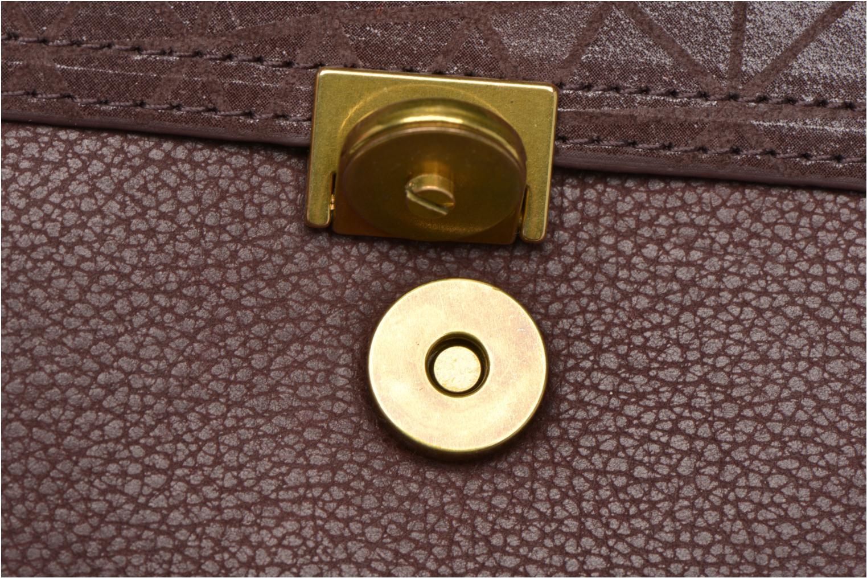 Handtaschen Nat & Nin Nova weinrot ansicht von links