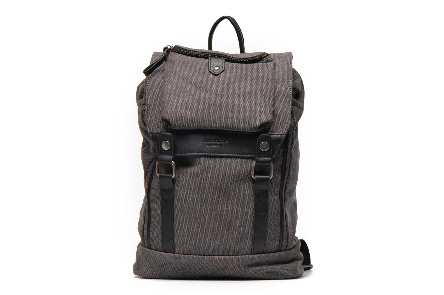 Aaron Toile et cuir Anthracite