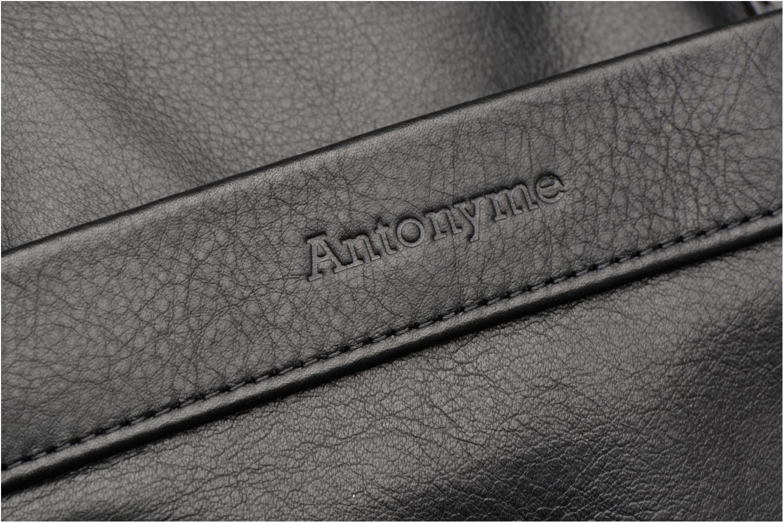 Laptoptaschen Antonyme by Nat & Nin Lorenzo schwarz ansicht von links