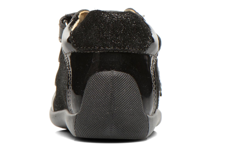Chaussures à scratch Primigi Enora Noir vue droite