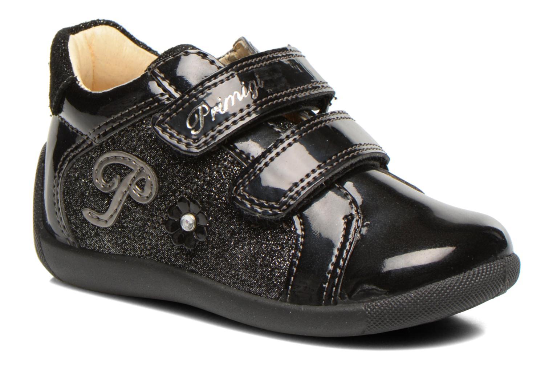 Chaussures à scratch Primigi Enora Noir vue détail/paire