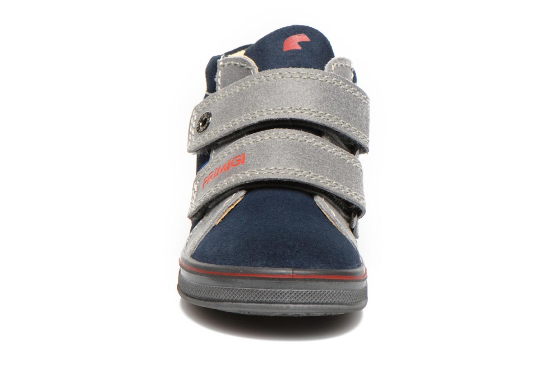 Chaussures à scratch Primigi Fiji Bleu vue portées chaussures