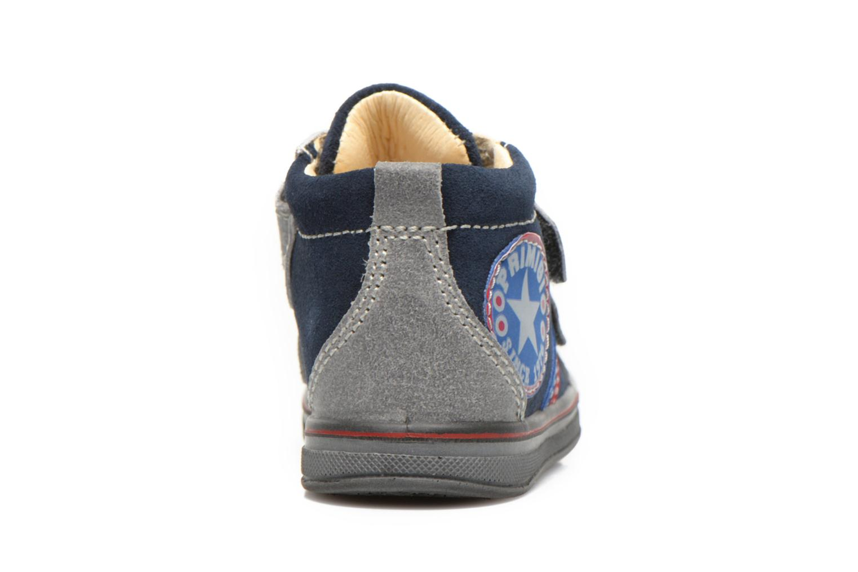 Chaussures à scratch Primigi Fiji Bleu vue droite