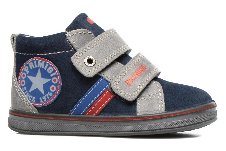 Chaussures à scratch Primigi Fiji Bleu vue derrière