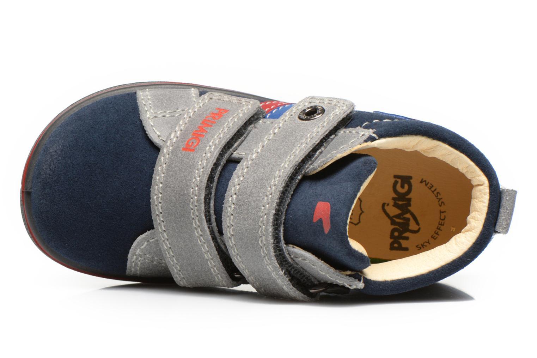 Chaussures à scratch Primigi Fiji Bleu vue gauche