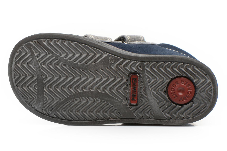 Chaussures à scratch Primigi Fiji Bleu vue haut