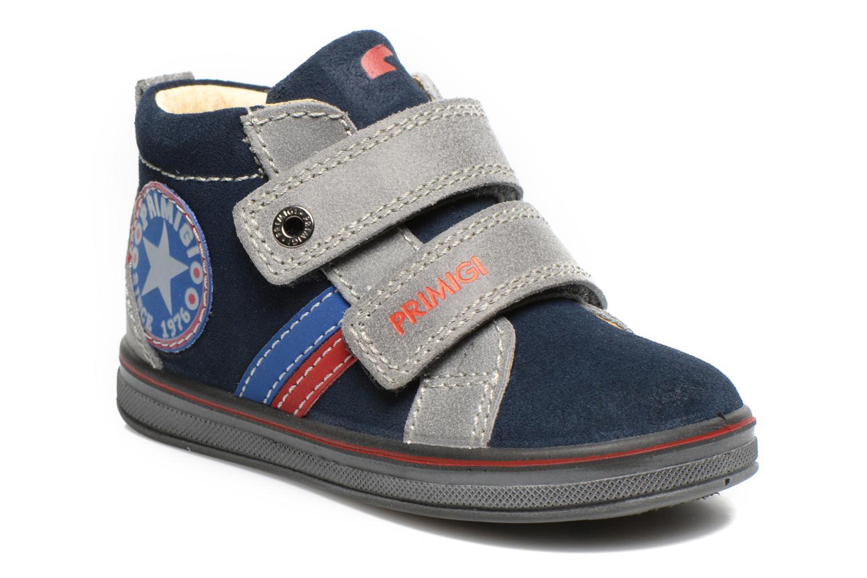 Chaussures à scratch Primigi Fiji Bleu vue détail/paire