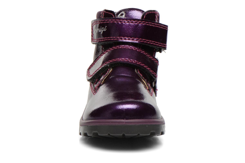 Chaussures à scratch Primigi Buzz Violet vue portées chaussures