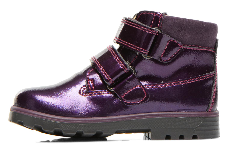 Chaussures à scratch Primigi Buzz Violet vue face