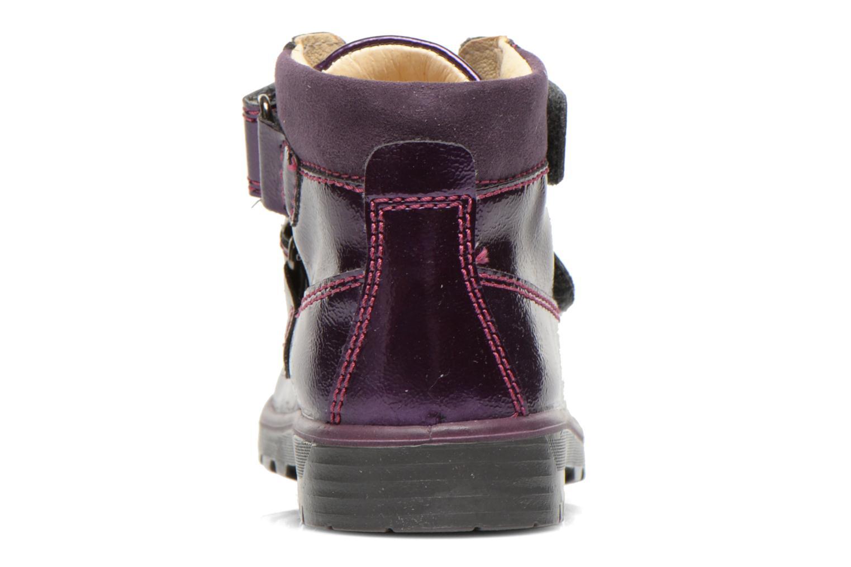 Chaussures à scratch Primigi Buzz Violet vue droite