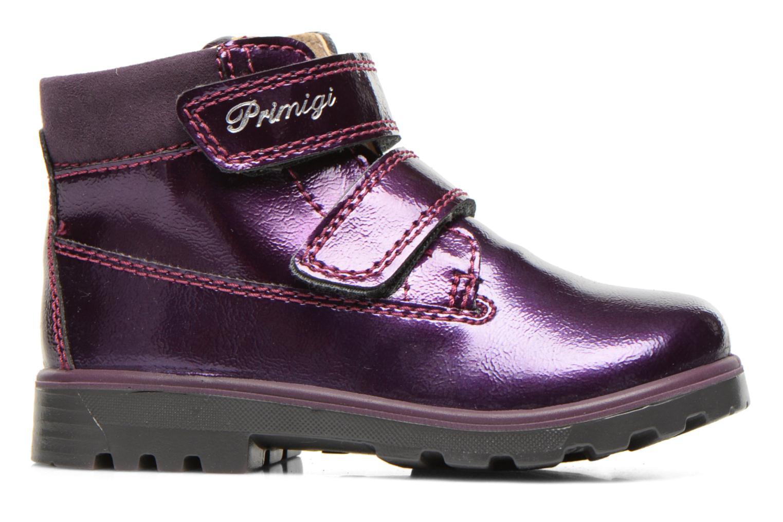 Chaussures à scratch Primigi Buzz Violet vue derrière
