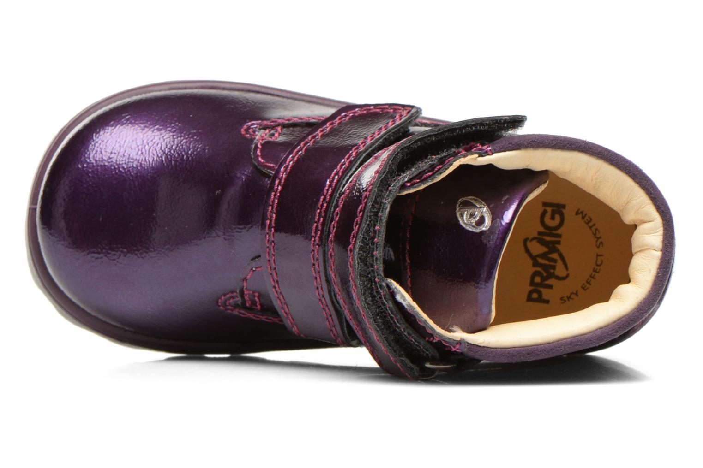 Chaussures à scratch Primigi Buzz Violet vue gauche