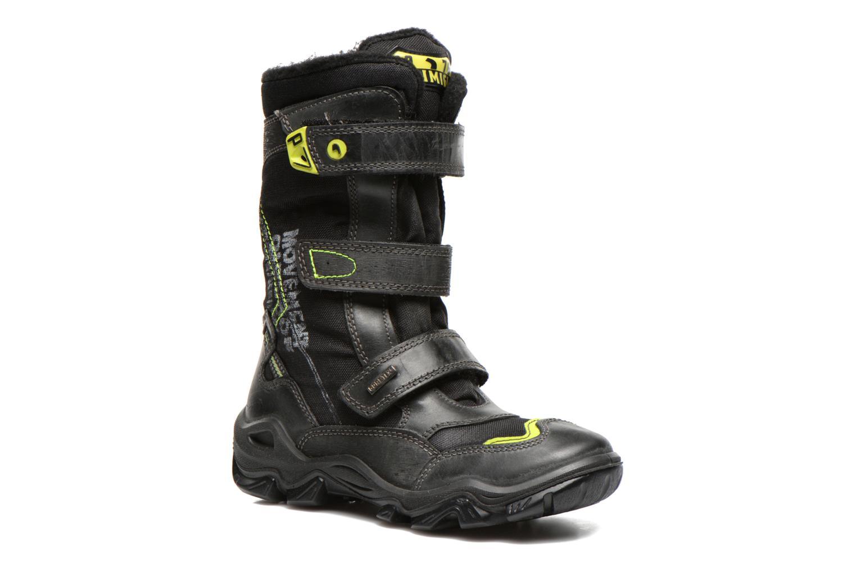 Ankle boots Primigi Atsuko-E Black detailed view/ Pair view