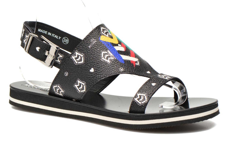 Zapatos especiales para hombres y mujeres Love Moschino COLORBLOCKSANDALE (Negro) - Sandalias en Más cómodo