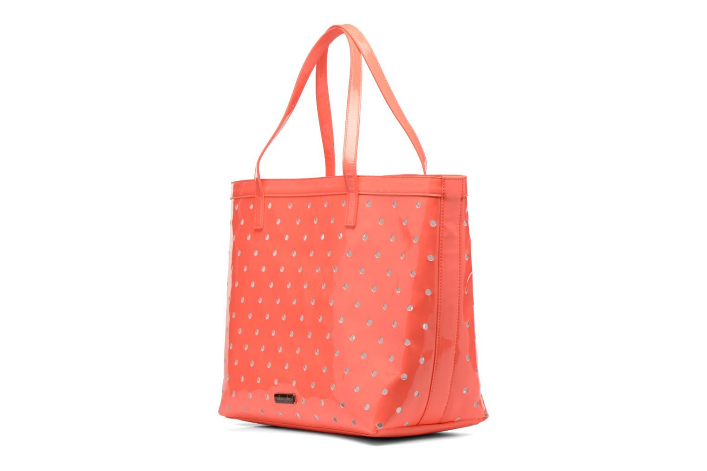 Handtaschen Mellow Yellow Voguer rosa schuhe getragen