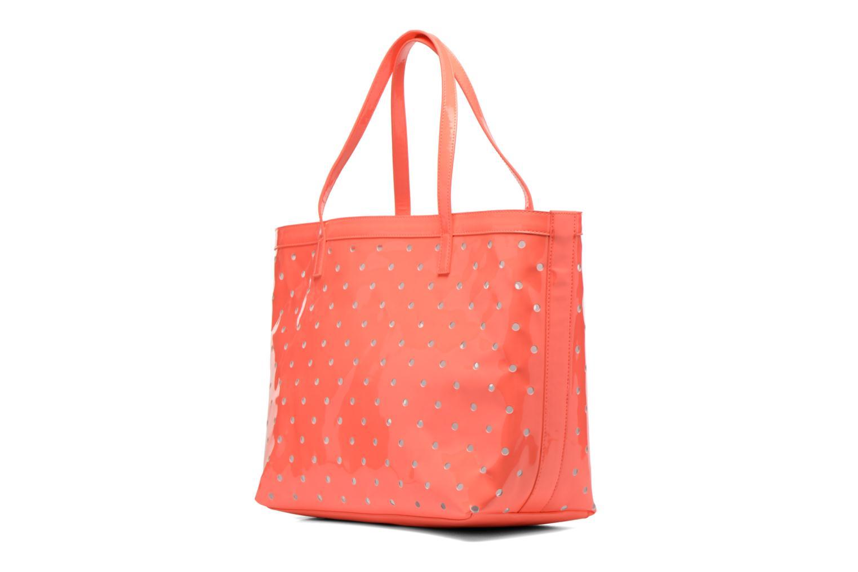 Handtaschen Mellow Yellow Voguer rosa ansicht von rechts