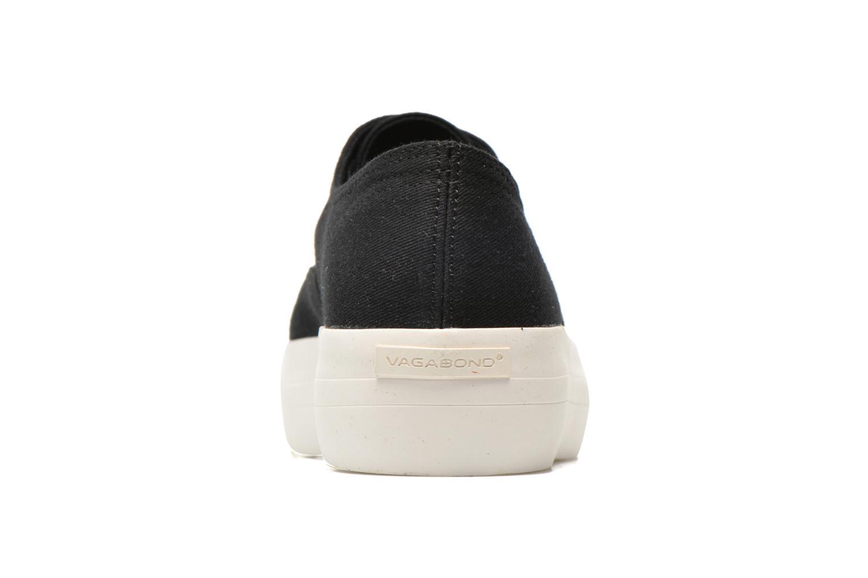 Baskets Vagabond Shoemakers Keira 4144-180 Noir vue droite