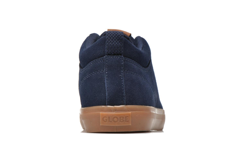 Sneaker Globe Gs Chukka blau ansicht von rechts