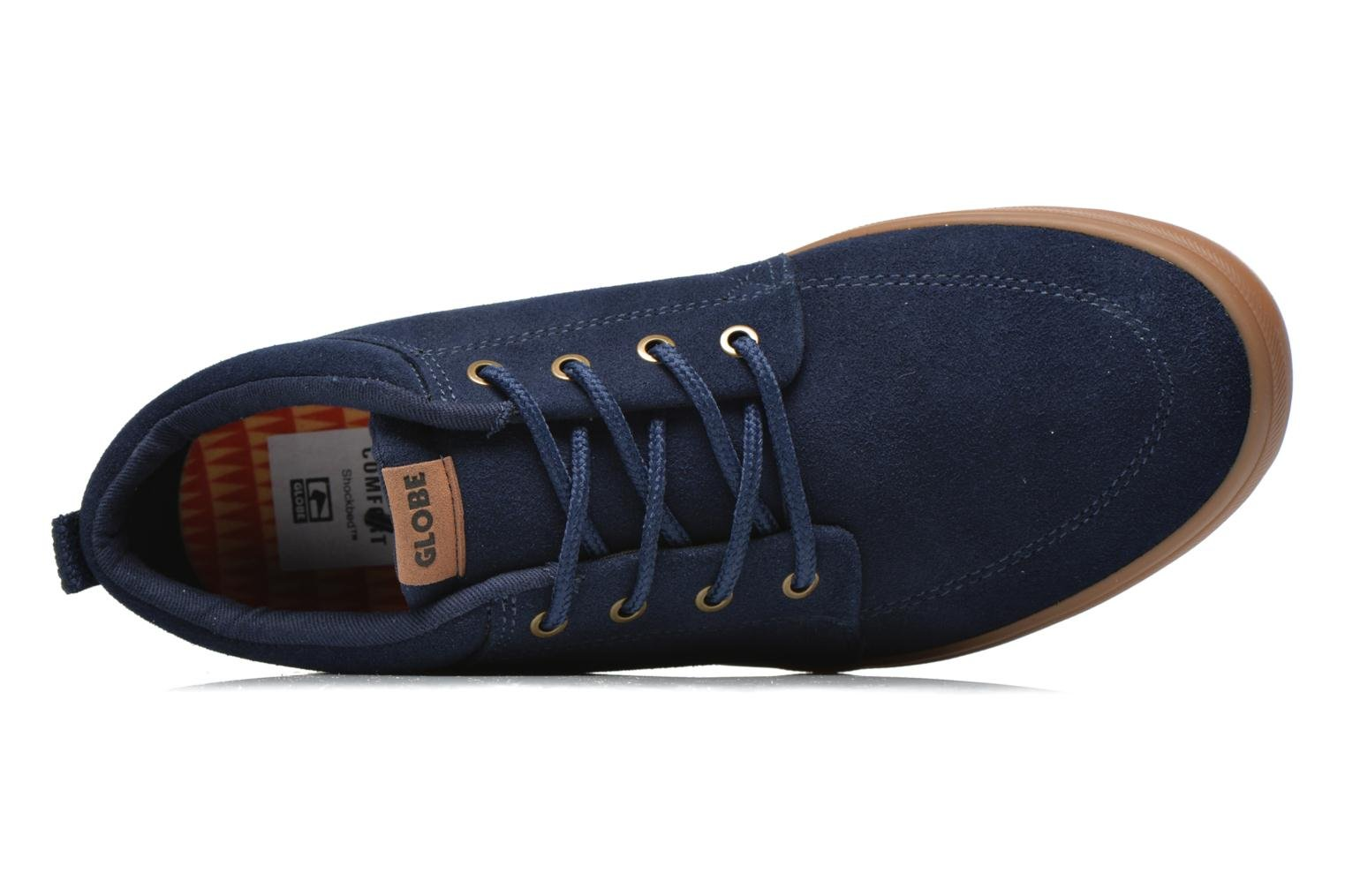 Trainers Globe Gs Chukka Blue view from the left