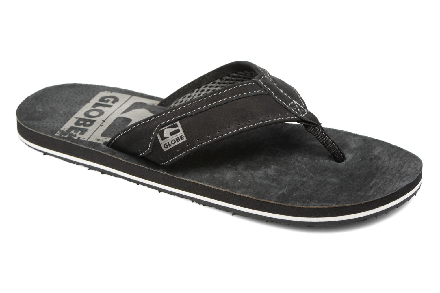 Slippers Globe Base Zwart detail