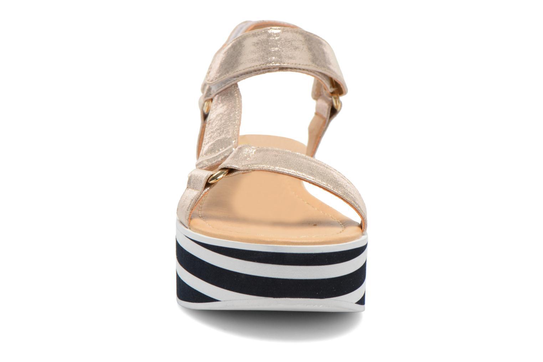 Sandalen No Name Bhama Sandal gold/bronze schuhe getragen